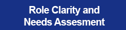 Role clarity and Training Needs Assessments